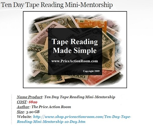 Ten Day Tape Reading Mini-Mentorship