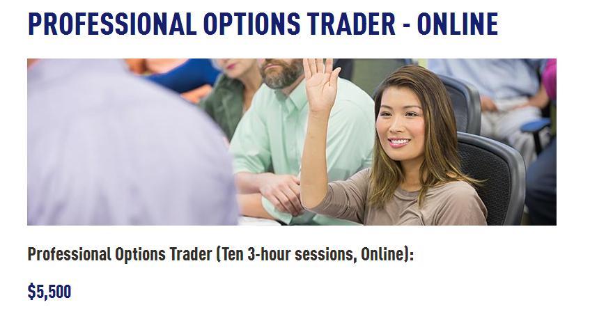 Options trading professional customer