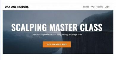 [DOWNLOAD] The Day One Traders – Scalping Master Course