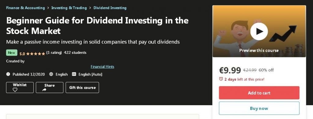 [DOWNLOAD] The Beginner Guide for Dividend Investing in the Stock Market