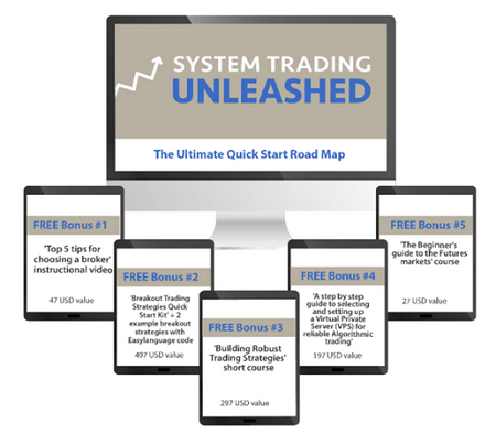 """Today, Martin finally reveals the ultimate road-map to system trading in his new program """"System Trading Unleashed"""""""